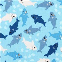 Tissu Requins Malins
