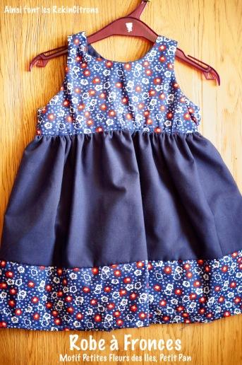 robe fronce petit pan blog