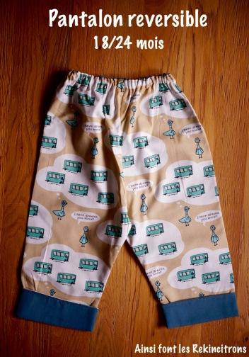 Pantalon Swapp