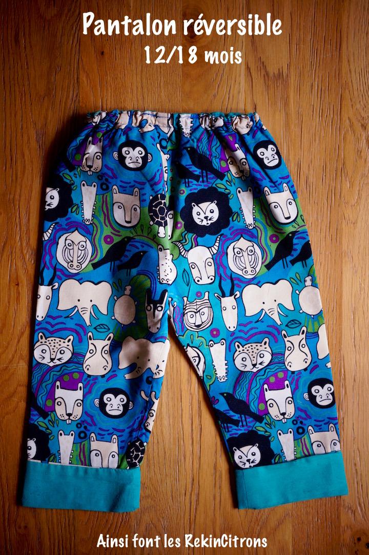 Pantalon enfant savane
