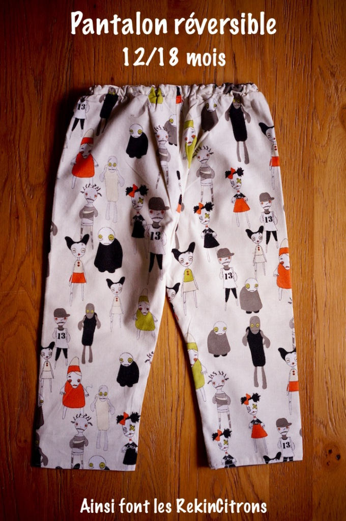 Pantalon enfant Zombies