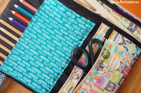 Pochette sacoche dessin enfant totems 8