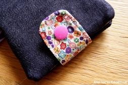 pochette barrettes elastiques petite fille couture fait main 6