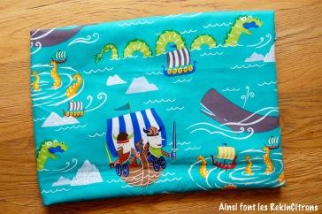 Tissu alexander henry the viking sea 2