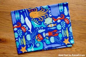 Tissu bio marin