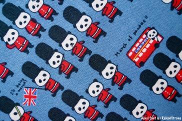 tissu-toile-pandas-britanniques-bleu-detail